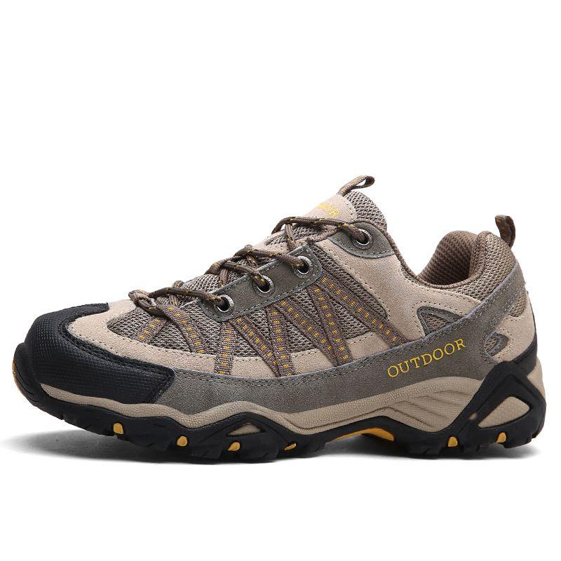 Men women hiking shoes outdoor Sneakers men mountain climbing trekking shoe male hunting trek sport shoes non-slip chasse