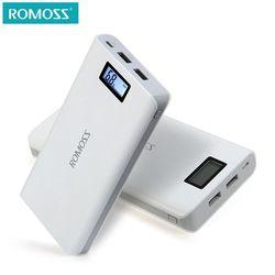 D'origine 20000 mAh ROMOSS Sens 6/6 Plus LCD Portable Power Bank Chargeur Externe Batterie Rapide De Charge Pour Les Téléphones Tablet