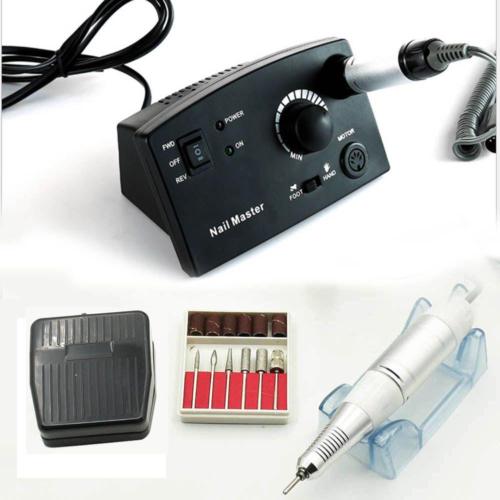 JEWHITENY 35000RPM 25W Nail Drill Electric Machine Manicure Cutter Accessory Machine Kits For Pedicure Manicure File Nail tools