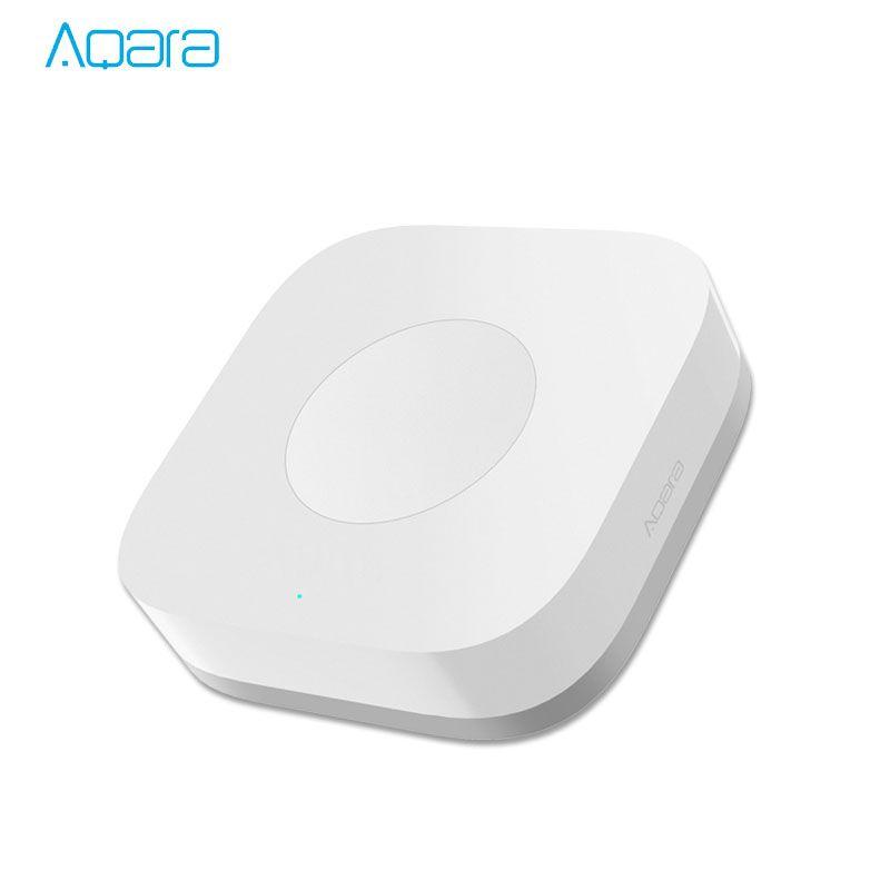 Xiaomi Mijia Aqara commutateur Intelligent sans fil télécommande intelligente une clé contrôle Aqara Application intelligente sécurité à domicile APP contrôle