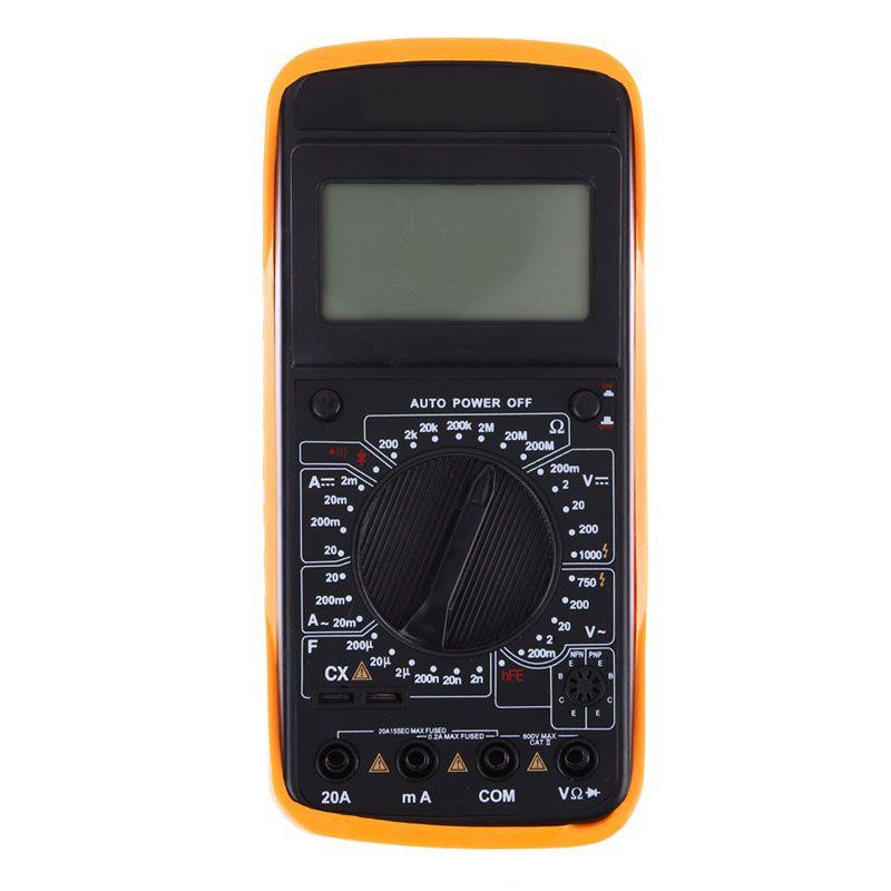 AC DC LCD Display Professional Electric Handheld Tester Meter Digital Multimeter Multimetro Ammeter High Quality