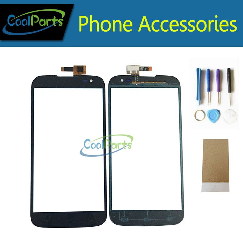 1PC/Lot High Quality For Gigabyte GSmart Saga S3 Touch Screen Digitizer Touch Panel Glass Replacement Part With Tool&Tape Black
