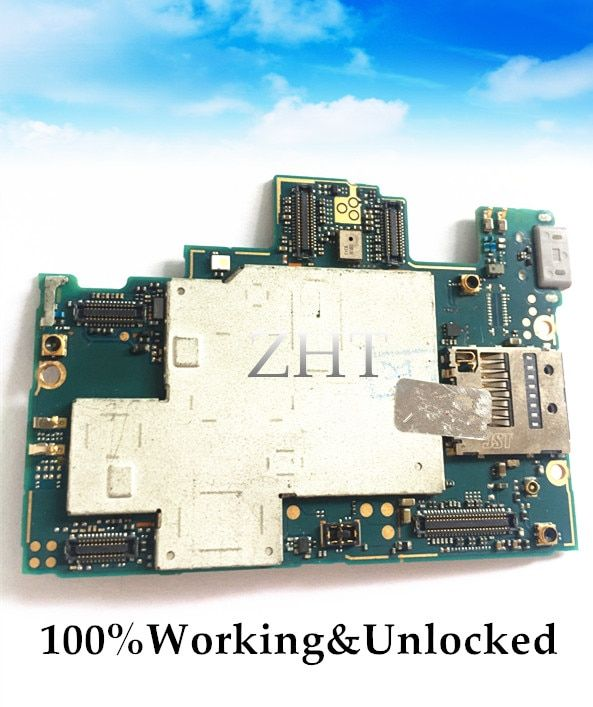 Unlocked European version Original Motherboard For XPERIA Z L36H C6602/C6603 Motherboard Logic Board Free shipping switch
