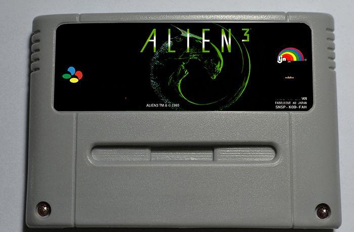 Alien 3 - Action Game Cartridge EUR Version 16 bit 46 pin
