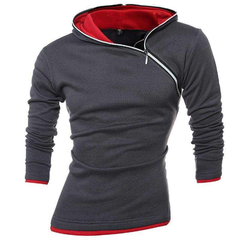 2018 sweat à capuche pour homme Sudaderas Hombre Hip Hop hommes marque loisirs veste à glissière sweat à capuche Slim Fit hommes à capuche XXXL 339KS