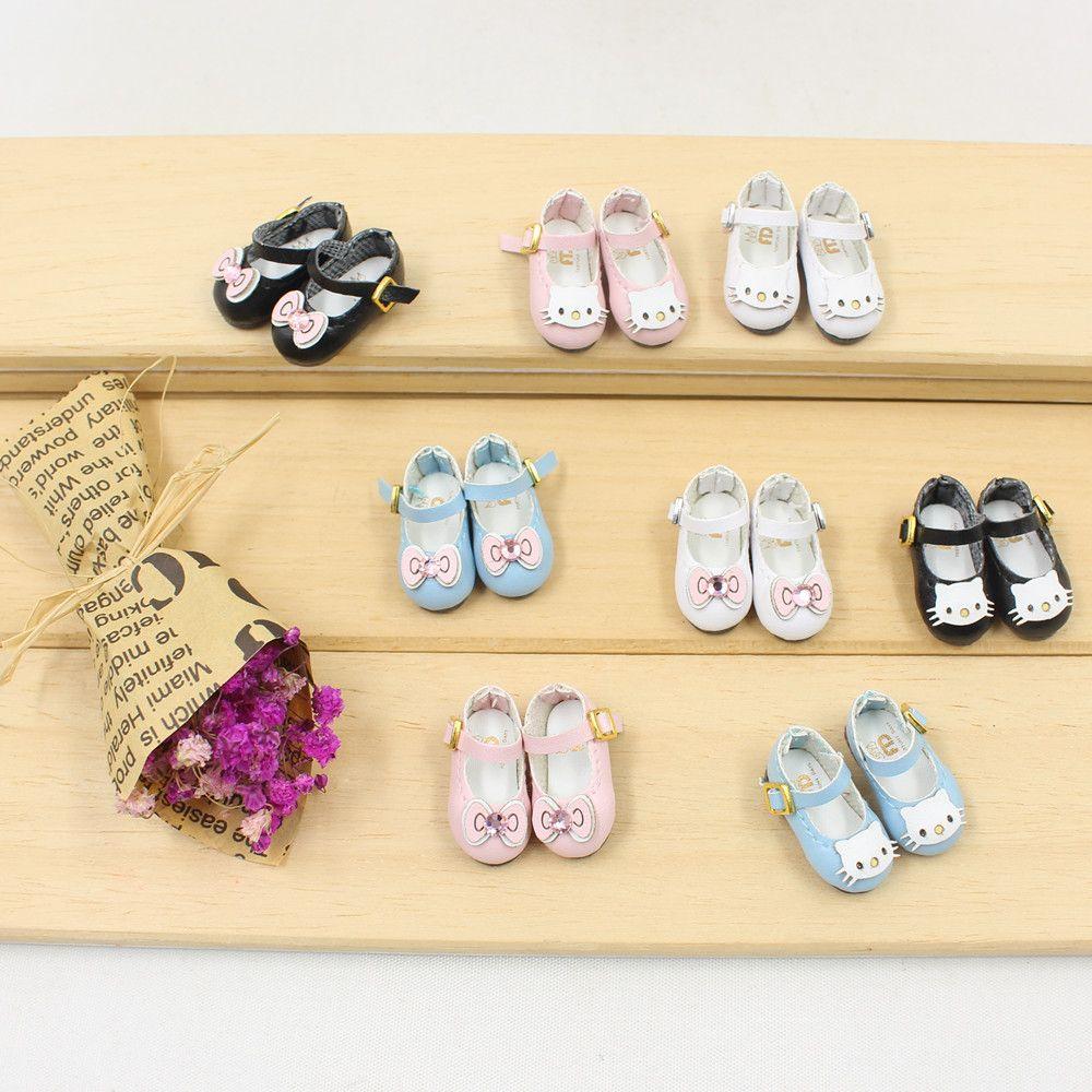 Livraison gratuite blyth poupée icy organe commun chaussures kitty arc 2.5 cm cadeau jouet