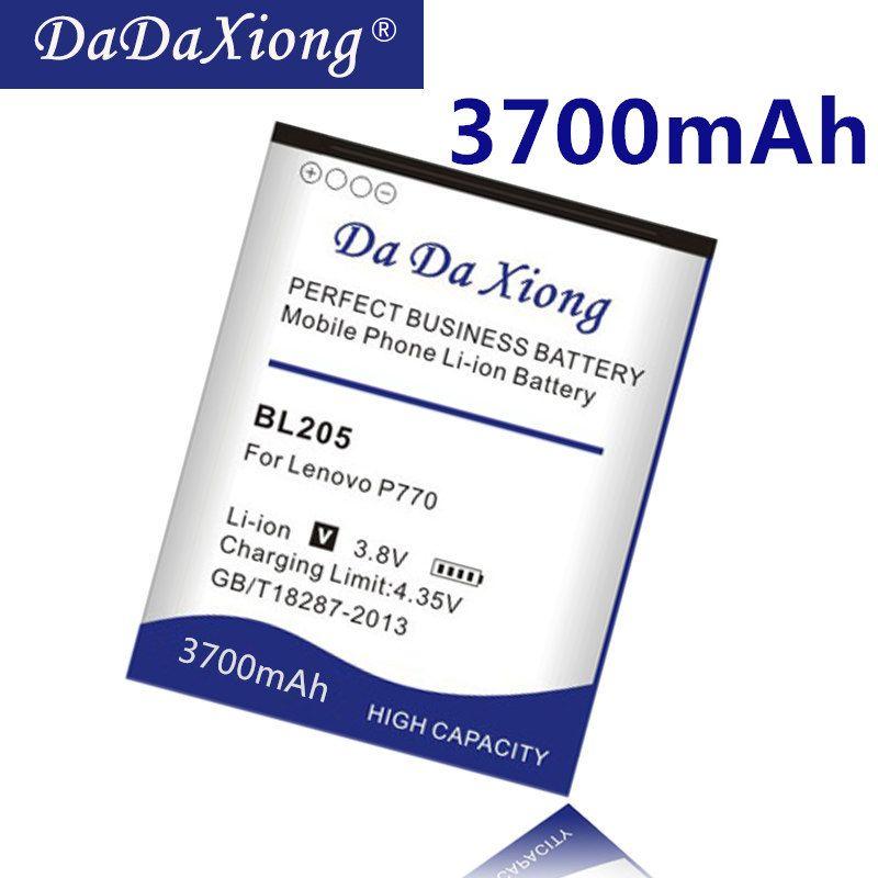 Da Da Xiong Original 3700 mah BL 212 BL212 Batterie für Lenovo S8 A708T A628T A620T A780E A688T S898t + telefon batterie