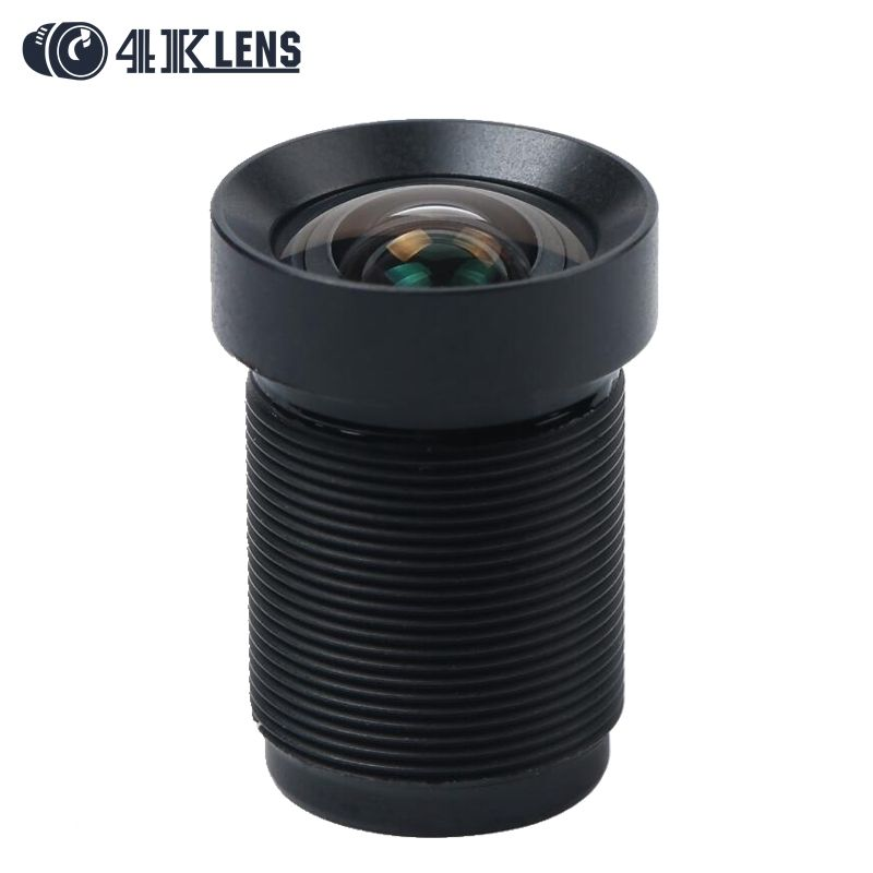 4.35MM Lens 1/2.3 Inch with Dust Ring 10MP IR 72D HFOV NON Distortion for Sporty Cameras and Phantom 3/4 <font><b>Drones</b></font> Hot