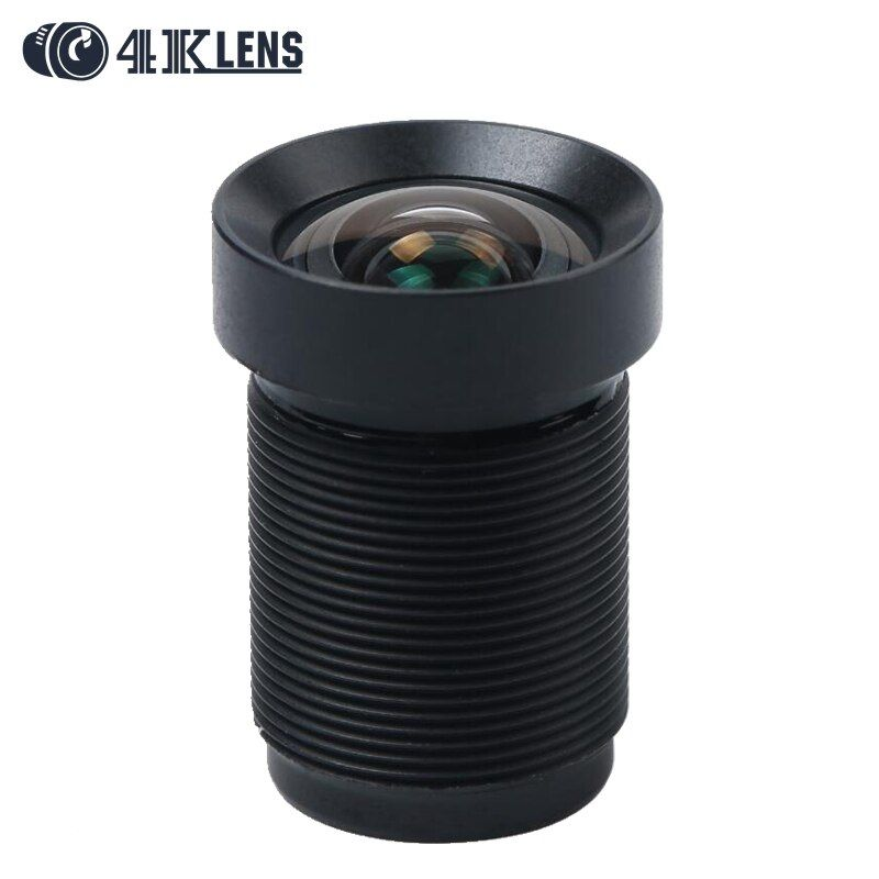 4.35MM <font><b>Lens</b></font> 1/2.3 Inch with Dust Ring 10MP IR 72D HFOV NON Distortion for Sporty Cameras and Phantom 3/4 Drones Hot