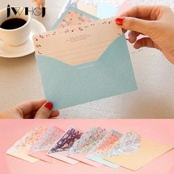 Kawaii 20 sheet letter paper+10 pcs envelopes Finely flower Letter pad Set/set writing paper Office&School Supplies