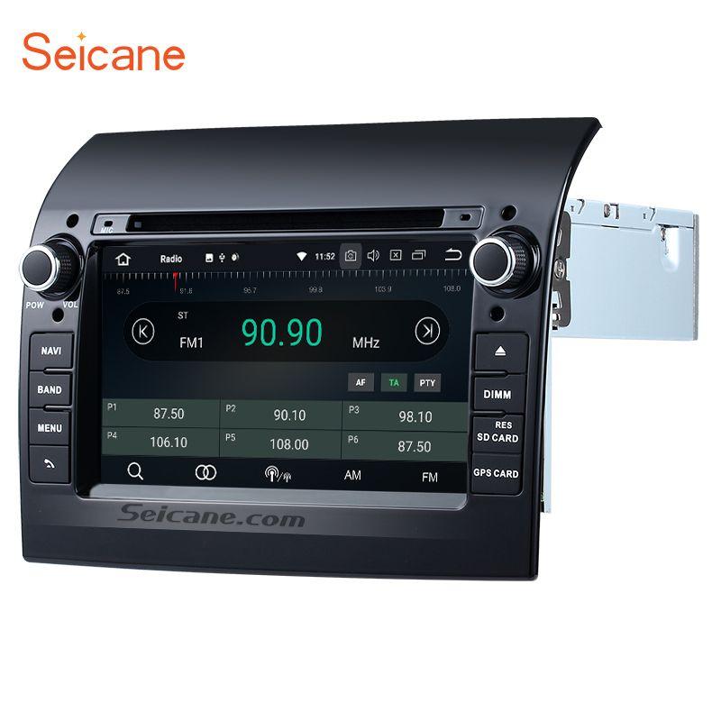 Seicane Aftermarket 8-Core Android 8.0 Ram 4g auto DVD stereo einheit multimedia-Spieler GPS Navi für 2007- 2016 Fiat Ducato mit AUX