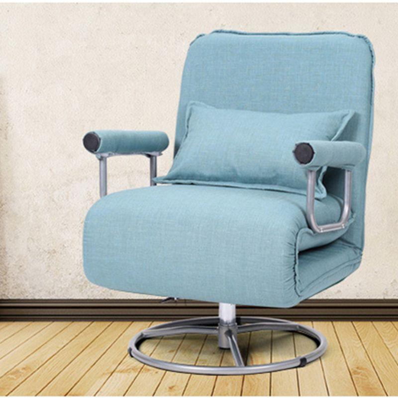 Computer gaming stuhl swivel Multifunktionale Büro Stuhl Klappstuhl wohnzimmer Liege Stuhl Einfachen Klapp sofa Bett Lift