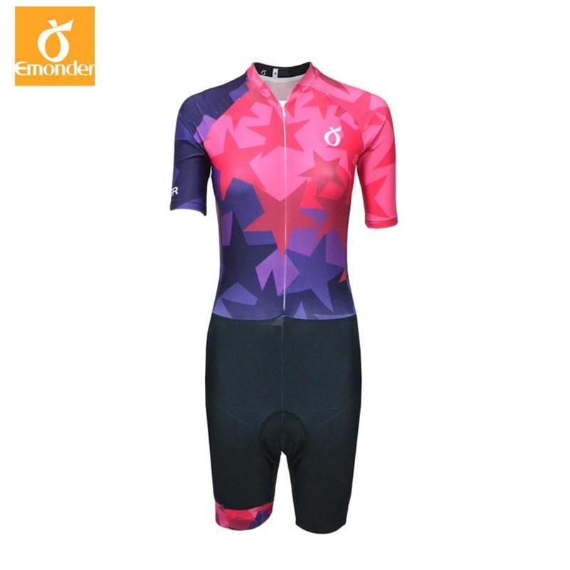 Customize Pro Team Triathlon Women Men Cycling Clothing Skinsuit Jumpsuit Maillot Cycling Jersey Ropa Ciclismo
