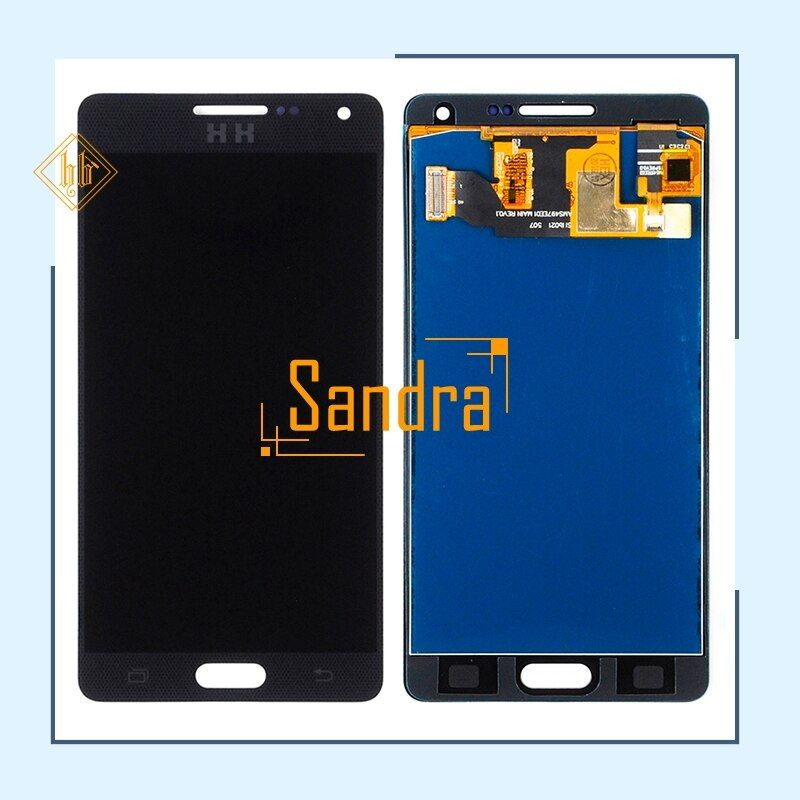 New brand 1pcs High quality HH For Samsung A5 A500 A5000 lcd display with touch screen digitizer assembly black white gold+tools