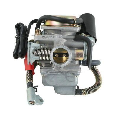 For Honda CRF50 XR50 GY6 ATV Kart Carburetor For SCOOTER GY6 110cc 125 150CC ATV NST JCL Chinese Roketa Sunl CARB 24mm