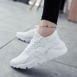 2019 г. модная повседневная обувь женские летние удобные дышащие сетчатые туфли на плоской подошве женские Сникеры на платформе Chaussure Femme