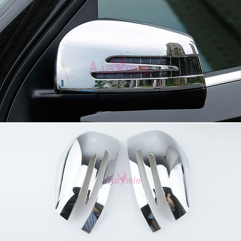 Accessories For Mercedes Benz W166 C292 X166 GLE Wagon Coupe GL GLS Class Door Mirror Cover Overlay Chrome Car Styling