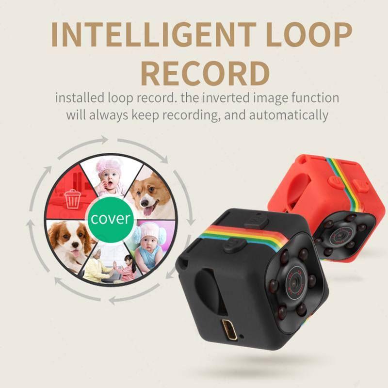 Enregistreur vocal vidéo à Vision nocturne SQ11 Mini caméra 640*480 DV Micro caméra Sport voiture DVR Mini caméscope à came d'action N