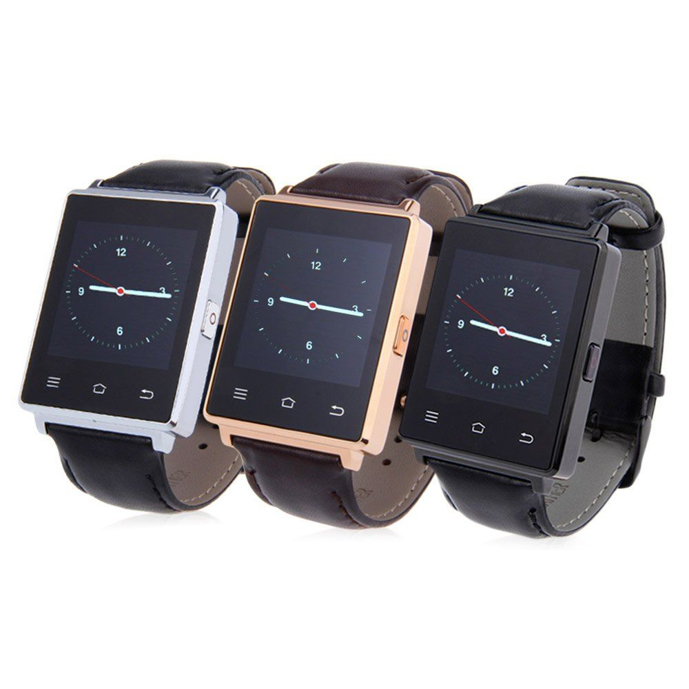 Smart Watch NO. 1 D6 1 GB RAM 8 GB ROM MTK6580 Quad Core 1,63 Zoll Android 5.1 Unterstützung Health Monitor GPS WIFI