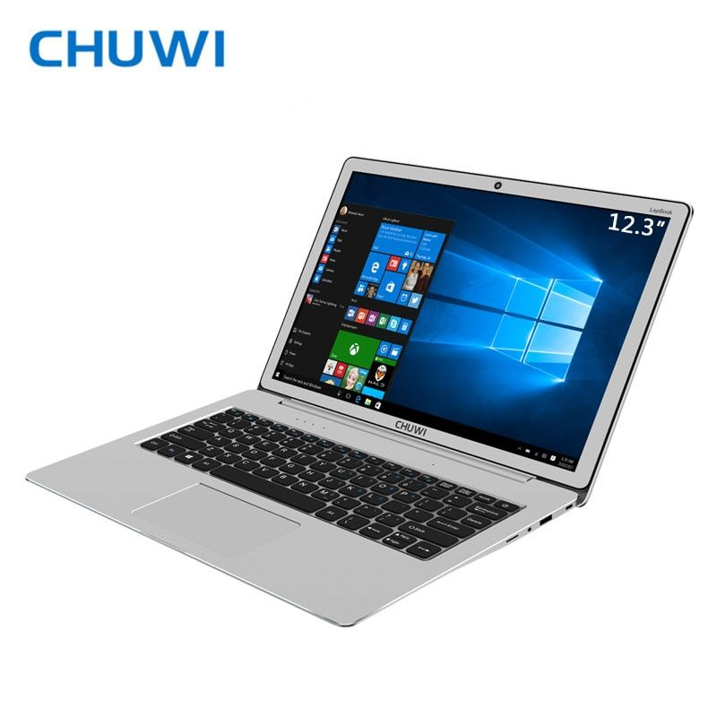 Grande Promotion! CHUWI LapBook 12.3 Ordinateur Portable Windows10 Intel Apollo Lac N3450 Quad Core 6 GB RAM 64 GB ROM 2 K Écran et M.2 SSD Port