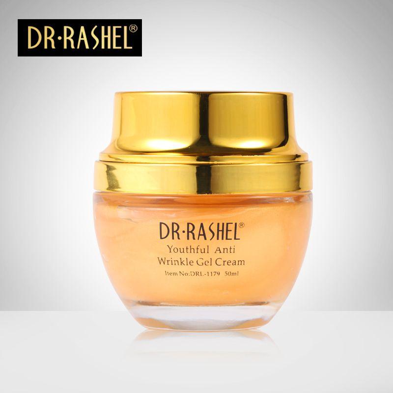 24 k Réel or atom jour crèmes Collagène de nuit crèmes visage soins traitement crème de blanchiment soins de la peau anti-rides gel DR RASHEL