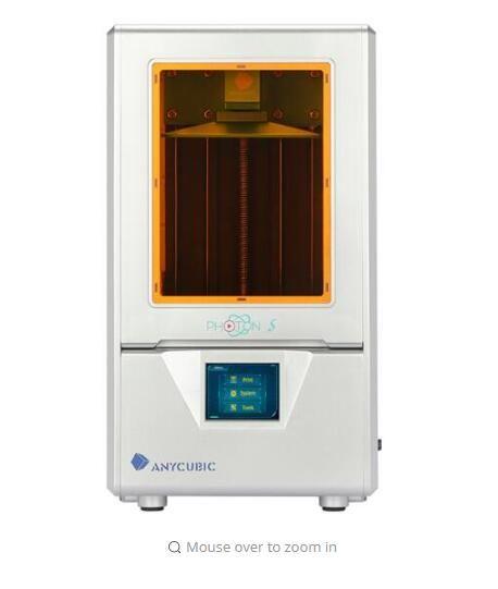 2019 Anycubic Licht-gehärtet 3D drucker Photon-s Desktop hochpräzise industrial grade 2 k bildschirm lcd bildung