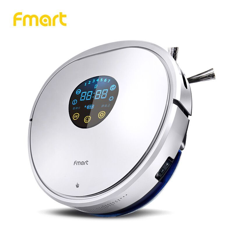Fmart Robot Vacuum Cleaner home cleaning UV Dust Sterilize With Self-Charge Remote Control Auto Cleaning Aspirator YZ-U1S Sweep