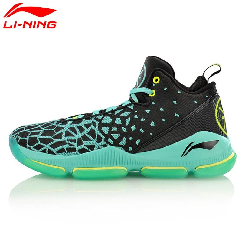 Li-Ning Men's FISSION III Wade Professional Basketball Shoes LiNing Cloud Breathable Sneakers Sport Shoes ABAM025 XYL109