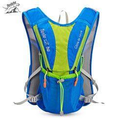 TANLUHU 10L Ransel Luar Rompi Lari Maraton Hidrasi Climbing Menjalankan Bersepeda Ransel Untuk Tas Air 2L