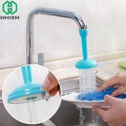 WHISM plástico regulador Splash Tap ajustable ahorro de agua filtro cocina ducha boquilla grifo cocina accesorios de baño
