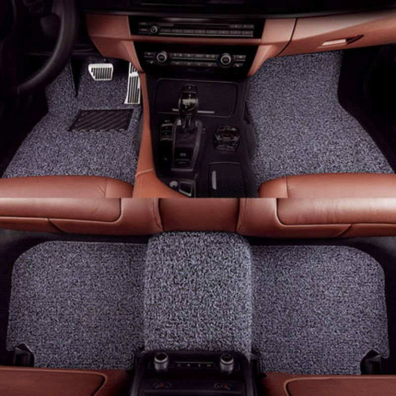 Wire Loop Carpets Waterproof Durable Custom Car Floor Mats For Porsche Bentley Borgward Maserati Luxgen Acura Most Cars