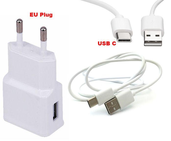2A EU US Type C USB Data Cable Mobile Phone Charger For LETV Le 1/1s,Le 2/2 Pro,Le Max/Max2,Le Pro 3 AI Edition,Oneplus 5t