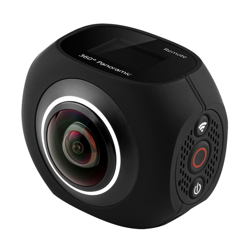 PANO360 Degree Motion Outdoor 4K Panoramic Camera VR HD Dual Lens 720 Degree Ip 190 Degree Wide Angle Smart Small Security Camer