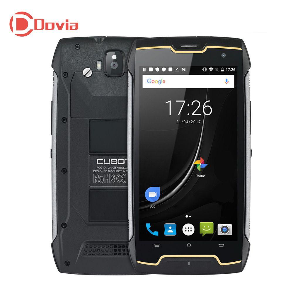 CUBOT Kingkong 3G Smartphone Android 7.0 5.0 inch MTK6580 Quad Core 1.3GHz 2GB RAM 16GB ROM IP67 Waterproof 4400mAh Battery
