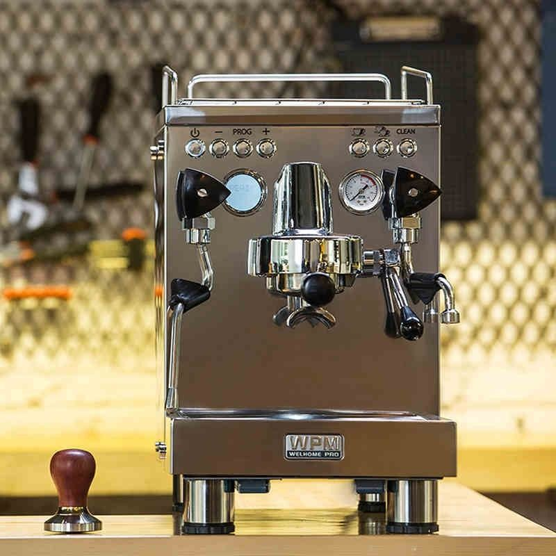 kd-310 Welhome Commercial espresso coffee machine/stainless steel espresso coffee maker with large capacity and automatic washer