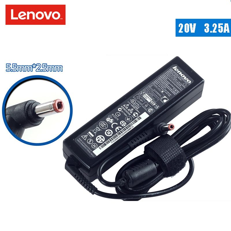 Original  20V 3.25A Laptop AC Adapter Charger Power Supply for Lenovo G430 Z360 U410