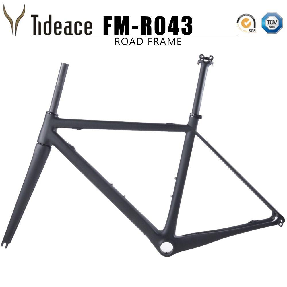 2018 only 990g T800 Full Carbon Fiber Bicycles Frame Light Weight Carbon Road Bike frameset C brake carbon frame BBright