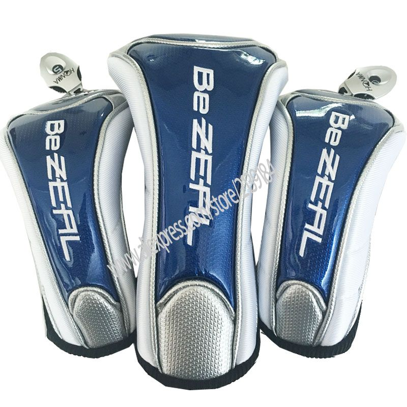 Neue Golf headcover Unisex HONMA Golf Treiber headcover #1 Treiber Abdeckung 3 5 holz Clubs head Cover Kostenloser versand