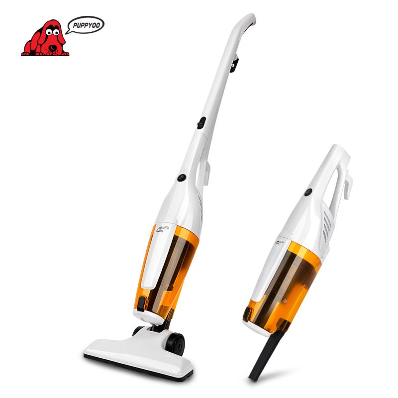 PUPPYOO Home Portable Rod Powerful Vacuum Cleaner Handheld Dust <font><b>Collector</b></font> Multifunctional Brush Household Stick Aspirator WP3010