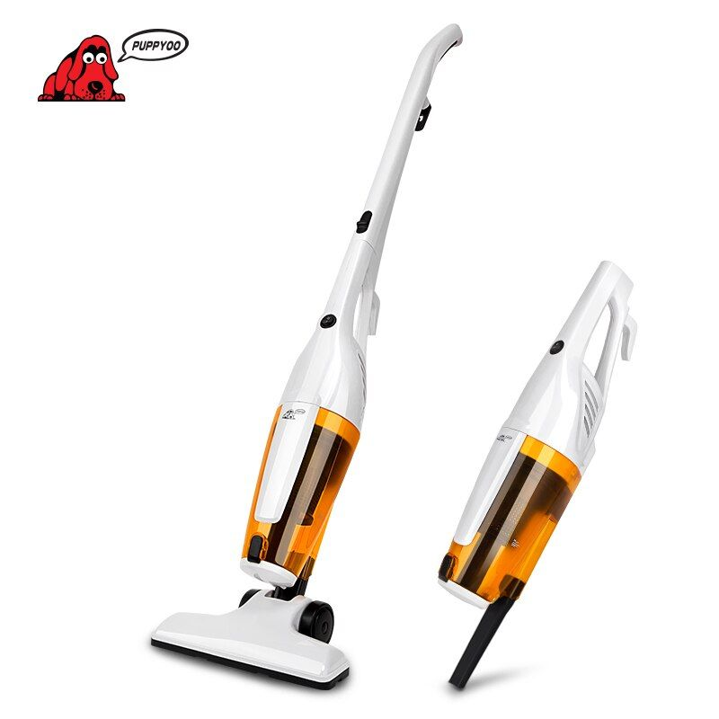 PUPPYOO Home Portable Rod Powerful Vacuum Cleaner Handheld Dust Collector Multifunctional Brush Household Stick Aspirator WP3010