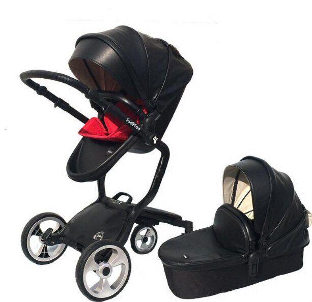 baby stroller Foo Foo (vinng) 2 in 1 reviews, analog stroller Mima Xari, foofoo 2 in 1 hanging stage and stroller kinderwagen