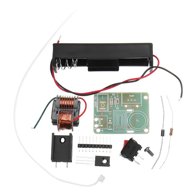15KV Hochfrequenz-dc Hochspannung Arc Generator Inverter Boost Step Up 18650 DIY Kit U Core Transformator Suite 3,7 V