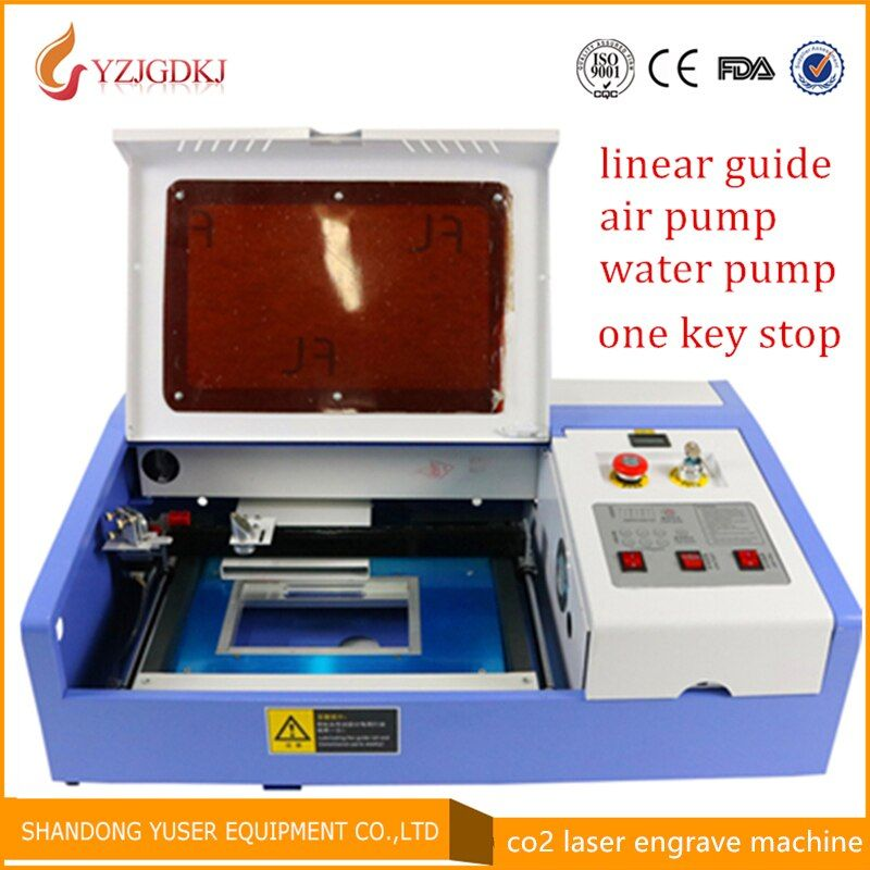 Good product!!50W tube laser engraver machine LY 3020 co2 laser cutter high quality and hot sale