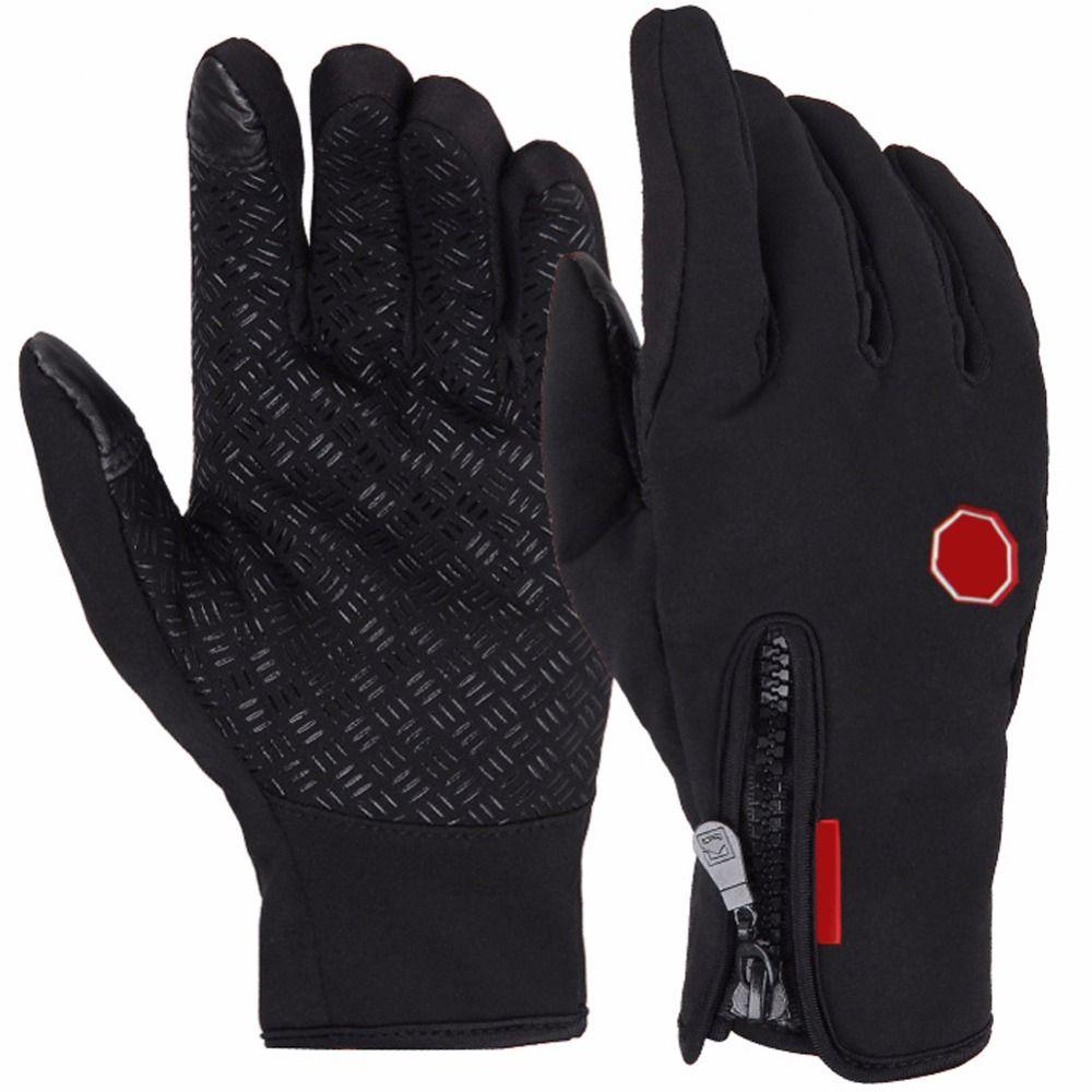 Multifunktions Vollfinger Radfahren Handschuhe Wasserdicht Winter Warmen Touch-screen-handschuh Skifahren Motorrad Winddicht Radfahren Handschuhe