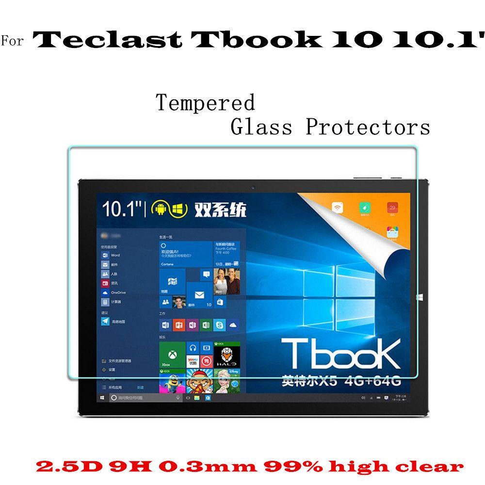Film de protection d'écran en verre Tbook 10 S pour Teclast Tbook 10 protecteur d'écran en verre trempé pour Teclast P10 garde d'écran