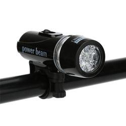 Lampu Depan Sepeda Silikon LED Depan Sepeda Lampu Tahan Air Bersepeda dengan Baterai Sepeda Sepeda Lampu #4AP23