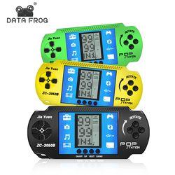 Ретро Классический детство тетрис портативные игровые плееры ЖК-электронные игры игрушки игровая консоль встроенный 23 классический Тетри...