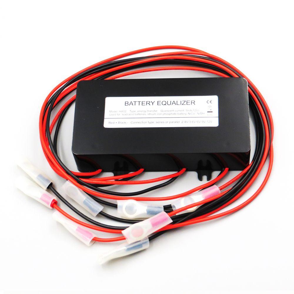 Battery equalizer HA02 4 X 6V | 9V | 12V used for lead-acid batteris Balancer PV cells Panel solar charger controller