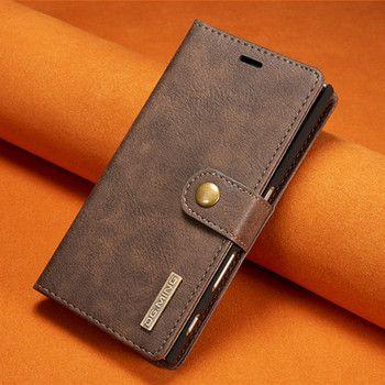 Para Sony Xperia xz lujo Cuero auténtico caso 2 en 1 desmontable Wallet stand teléfono cubierta para Sony Xperia xz con ranuras para tarjetas