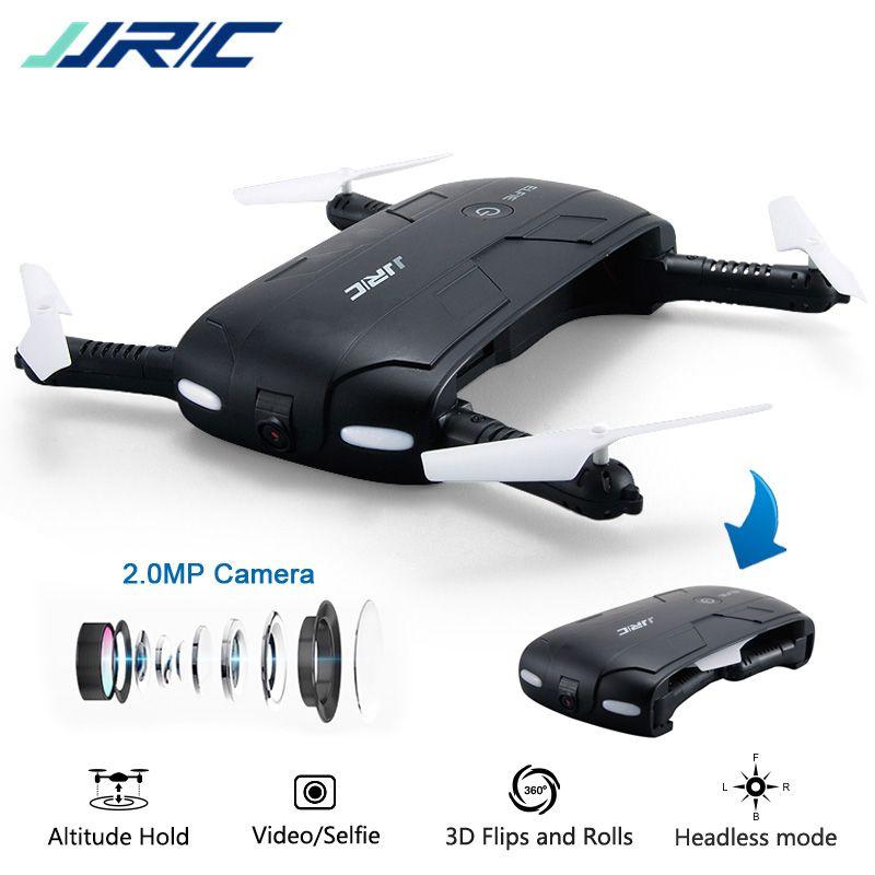 JJR/C JJRC H37 Elfie Mini Selfie Drone with Camera 2MP WIFI FPV Foldable Quadcopter APP Control Upgrade Dron toys VS Eachine E50